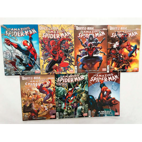 Comic, Marvel, Pack Universo Araña Amazing Spiderman 1-7