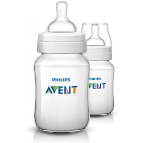 Avent - Biberón Classic Plus 260ml Pack X 2 Unid
