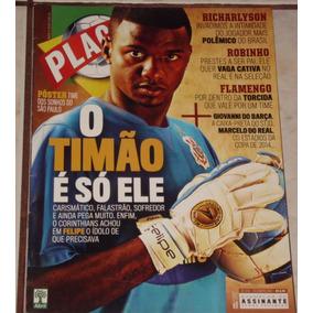 Revista Placar Nº 1313 - Dez/2007 - Pôster Melhor São Paulo
