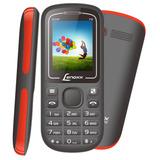 Celular Dual Chip Bluetooth Lenoxx Cx904 Preto E Vermelho