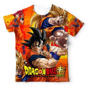 efb413f86 Camisa Do Goku Nova Transformação - Camisetas e Blusas no Mercado ...