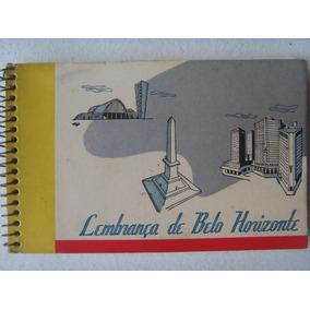 Álbum Lembrança De Belo Horizonte Foto Postal Colombo 1958