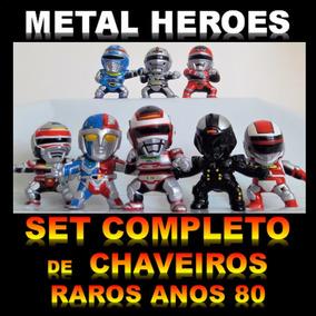 Chaveiro Chaveiros Metal Heroes Jaspion Macgaren Gavan Shade