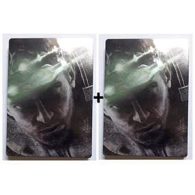2 Uni Estojo Case Box Metálico Splinter Cell Blacklist Xbox