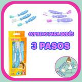 Cepillo Diente Dental Para Bebe Niños Silicona Marca Porta