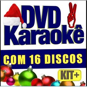 Dvd 16 Karaokê Músicas Pop, Rock, Sertanejo, Mpb, Forró