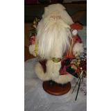 Santa Claus De Porcelana Navidad Fig Decorativa Envío Grati