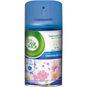 Refil Bom Ar Freshmatic Cheirinho De Limpeza 250ml