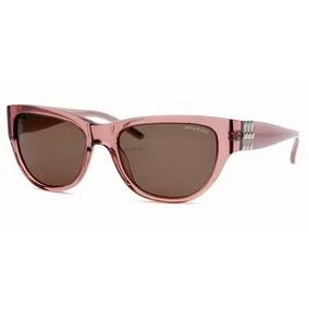 f034c9d20ebc3 Óculos De Sol Nina Ricci  323705 Acetato Rosa E Lente Marrom