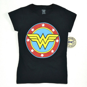 Wonder Woman Dc Comics Playera De Dama 100% Original 4 698fea1f5a806