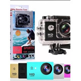 Camara De Video Sports 1080 Full Hd, Sumergible 30 M