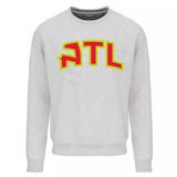 Buzo Cuello Redondo Atlanta Hawks Logo Atl Algodon f5d3391539e