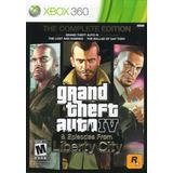 Grand Theft Auto 4 Xbox 360 The Complete Edition En Karzov
