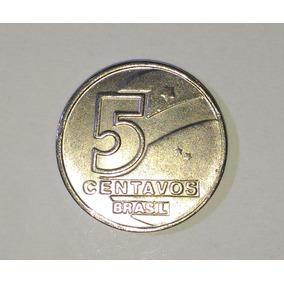 Moeda 5 Centavos De 1990 - Réplica