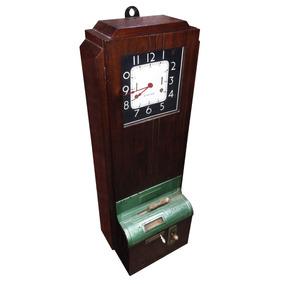 ef001cdb3e6 Relógio De Ponto Antigo (international - 40s)