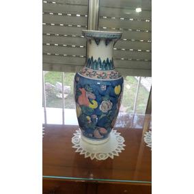 Antiguo Jarron Porcelana China Exelente