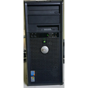 Computador Dell Gx620 Pentium 3.2ghz 2gb Hd80gb Dvd Rom
