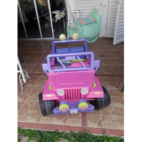 Carro De Barbie Jeep