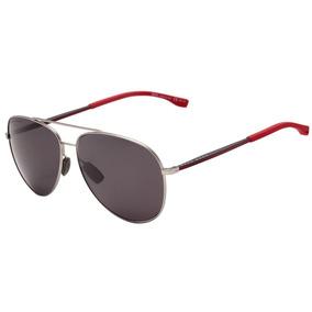 ab482dfe42b27 Hugo Boss Boss 0938 S - Óculos De Sol 2p5 M9 Prata E Vermelh