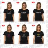 Camisa Salão De Beleza Feminino Varias Marcas