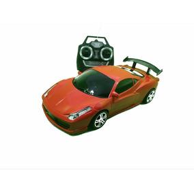Carrinho Carro Controle Remoto 7funções Lamborghini Vermelho
