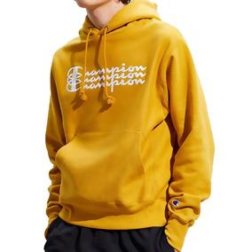 Sudadera Champion Triple Logo Dorado Edicion Especial