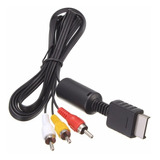 Cable Rca Audio Y Video Playstation Ps1 Ps2 Ps3