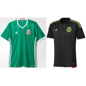 Jersey Seleccion Mexicana Negra Con Dorado en Mercado Libre México 0554bfd868cce