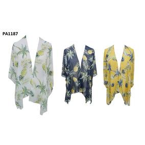 Kimono Cortos Gasa Saco Tropical Zaphir 3506