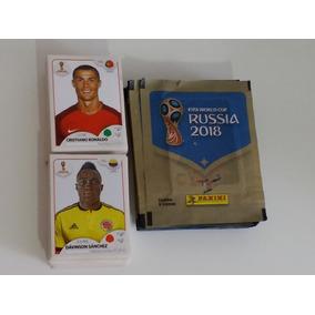 203 Figurinhas +18 Pacotes Lacrado Copa Russia 2018 F,gratis
