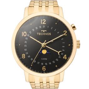 f03b4c18a0cfb Relogio Masculino Dourado - Relógio Technos Masculino no Mercado ...