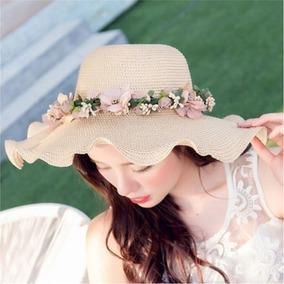 Mujeres Damas Verano Sol Playa Sombrero Outdoor Gorra Con... por eBay 119ac52a770