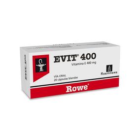 Evit 400 Mg X 20 Cápsulas