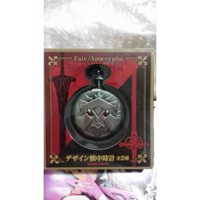 Fate Apocrypha Red Saber Reloj De Bolsillo