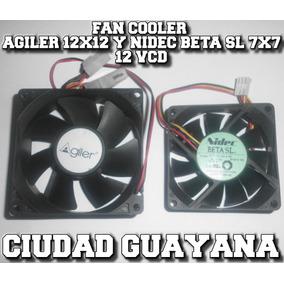 Fan Cooler Para Pc Agiler 12x12 Y Nidec Beta Sl 7x7