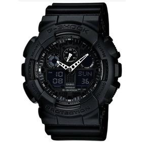 Reloj Casio G-shock Resistant Ga-100-1a1cu Digital Analog