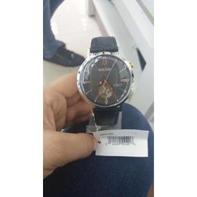 16d9747fa16 Pulceira De Couro Rel%c3%b3gio Bulova Automatico C - Relógios De ...