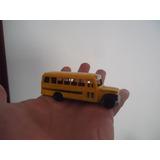 Bus Escolar Norteamericano Antiguo Echo En Usa