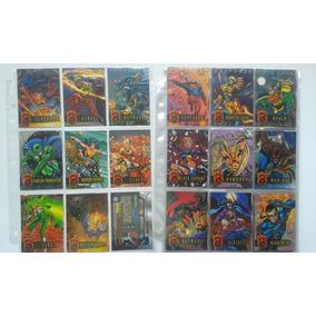 Coleção Cards Dc Firepower