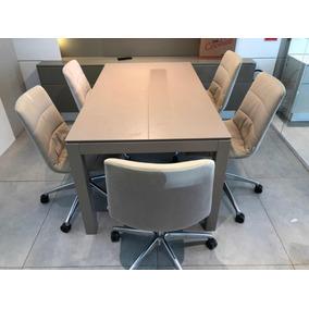 Mesa (todeschini) + 6 Cadeiras (todeschini)