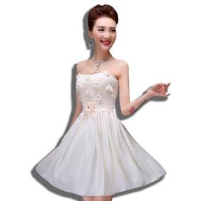 a9426f8fac Vestido Juvenil Japonesa - Vestidos de Graduación de Mujer Piel en ...