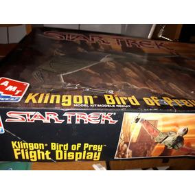 Star Trek Klingon Bird Of Prey Flghtdispmodel Kit Amt