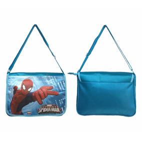 Bolsa Nylon Transversal Personagem Disney Marvel Original