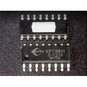 Xpt9911 Amplificador Classe D Original Kit 10 Peças