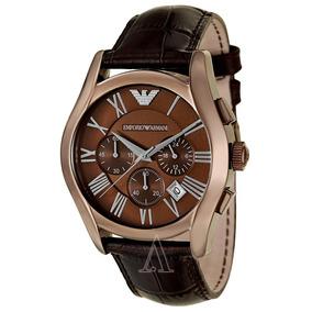 a861eedb6ab Relógio Emporio Armani Ar1846 Couro Marrom Original - Relógios De ...