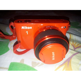 Camara Nikon J2 Lentes Intercambiables.