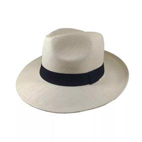 Chapéu Moda Panamá Aba Larga Clássico Masculino Feminino