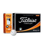 Bolas De Golfe -titleist - Pro V1 - Caixa C/ 12 Unidades