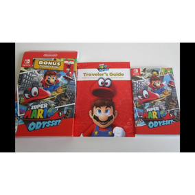 Super Mario Odyssey + Bônus Switch Mídia Física Lacrado