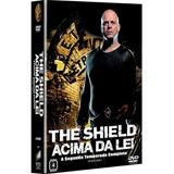 Box Dvd -the Shield Acima Da Lei - 2 Temporada - 4 Discos